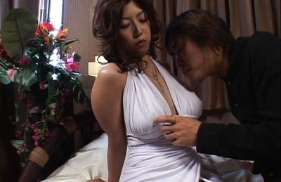 Naho Hazuki Asian beauty has great tits for fucking and cumshots