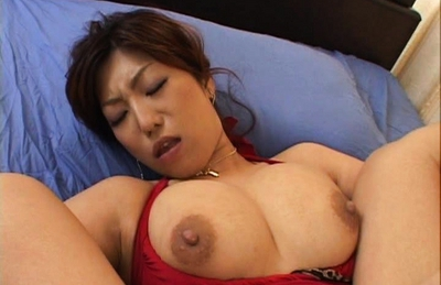 Naho Hazuki Naughty Japanese doll with big tits has a threesome