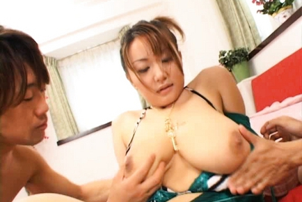 Chichi Asada Amazing Japanese busty babe