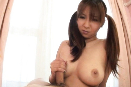 Hinano Japanese model likes showing off her big tits