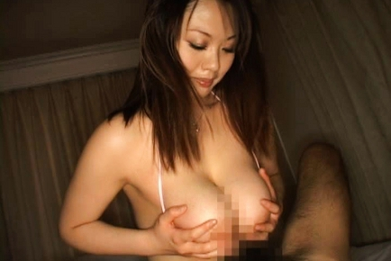 Japanese doll has amazing big tits