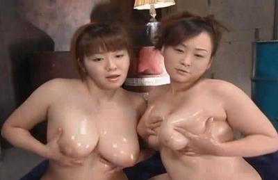 Miku Shirashi Kumiko Hayama Moe Naughty Asian Chicks Have Huge Hooters To Play With
