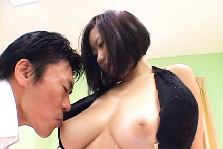Mika Kayama Japanese model has big tits