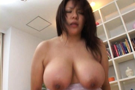 Busty and cute Japanese babe has sex