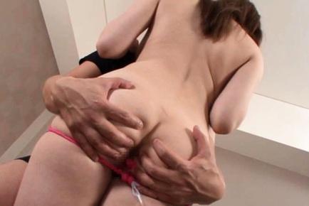 Momoka Nishina Asian beauty with big tits is a hot model