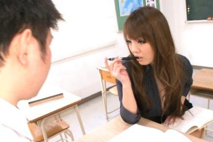Hitomi wildest teacher fucking creampie