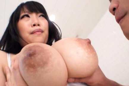 Hot and horny Asian babe Ai Satou busty and sexy chick