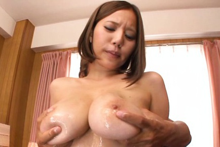 Milf with big tits Ruri Saijoh gets pounded hard