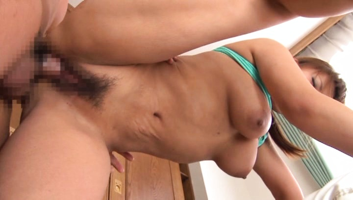 Busty Japanese milf is fucked and gets cum on boobs