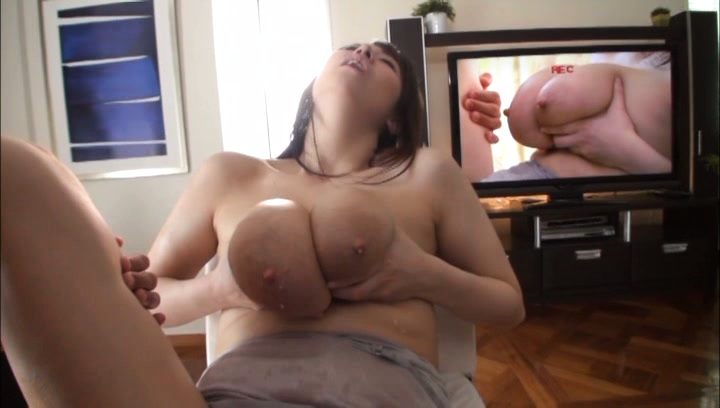 Busty Mio Sakuragi gets big tits played with and pussy fingered