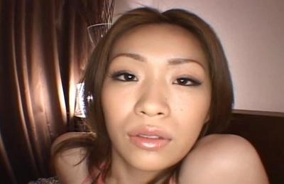 Ryo Momose Huge Hootered Asian Model Shows Off Her Big Tits