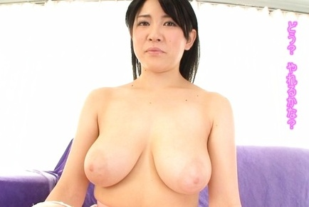 Astonishing Asian milf with huge tits Nanami Horikita enjoys titfuck