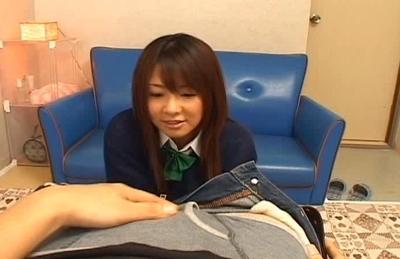Minori Hatsone Asian model and friend enjoy mutual masturbating
