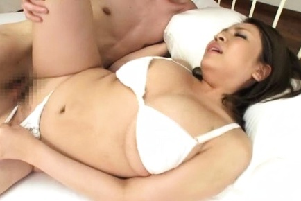 Pretty Japanese milf Conomi enjoys dick in mouth and pussy