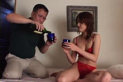 Milf in sexy lingerie, Jyuri Yoshino hardcore fucked on porn cam