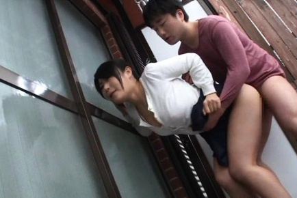 Steaming busty lady Chigusa Hara gets her big tits and pussy screwed