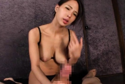 Gorgeous Asian babe Ema Kisaki with huge tits sprays milk