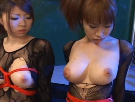 Emir Ruka Mirei Three Asian models get  with cum