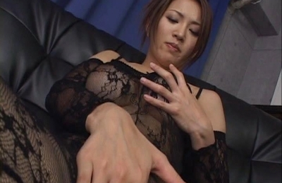 Yuki Touma Lovely Asian doll is enjoying masturbation