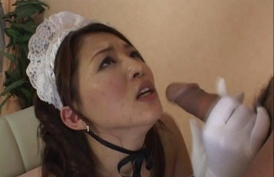 Yuki Touma Nice Japanese housemaid gets a hard fucking